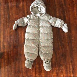 Baby Gap Down Filled Snowsuit